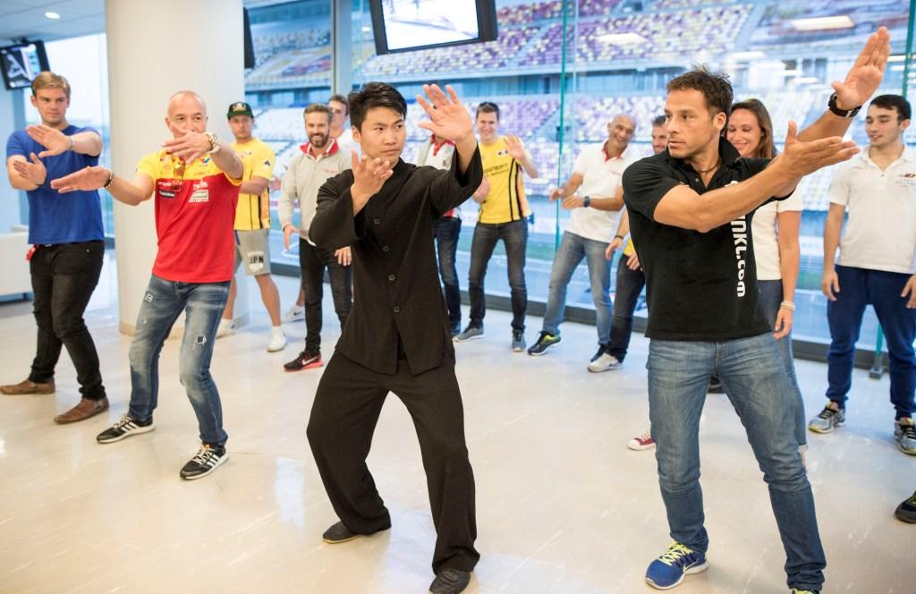 Péntek esti kung-fu edzés Kínában. Fotó: fiawtcc.com