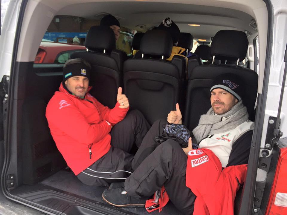 Mullerék a csomagtartóban... (Aki nem jön időben, annak már csak itt jut hely!) Fotó: fiawtcc.com
