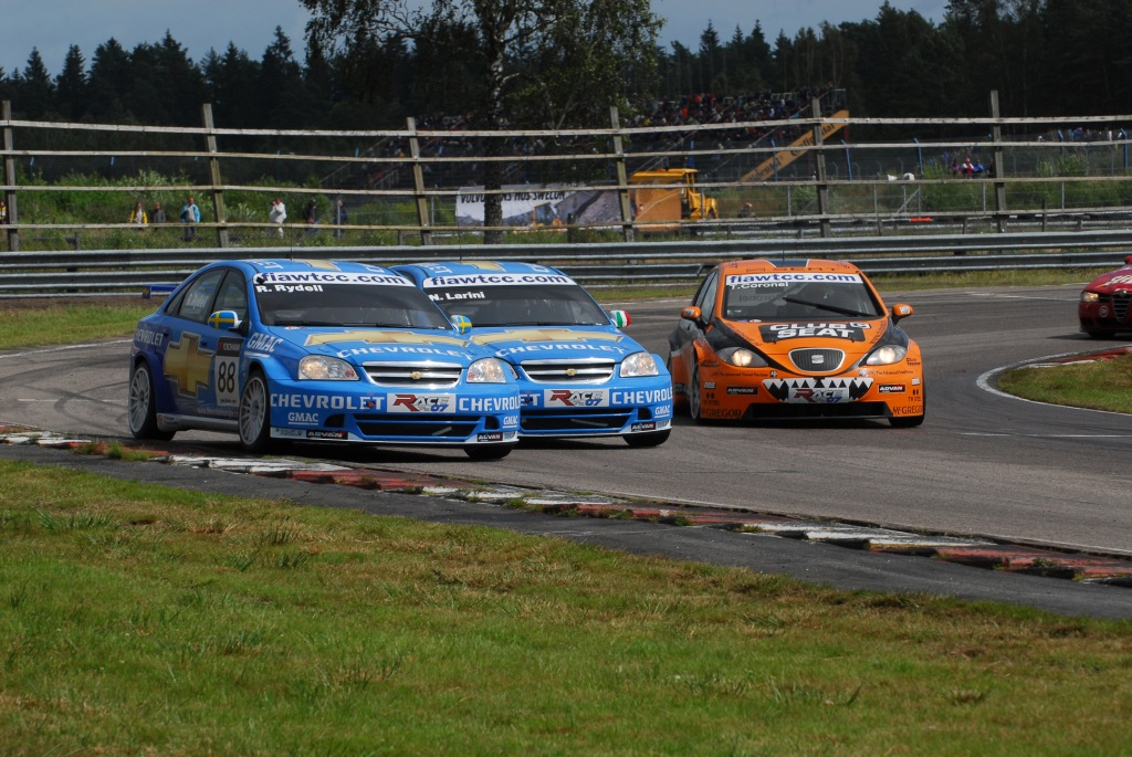WTCC Rickard Rydell Sweden 2007